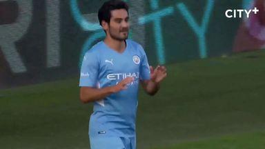 Gundogan double as City beat Blackpool