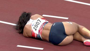 KJT suffers heptathlon injury heartache