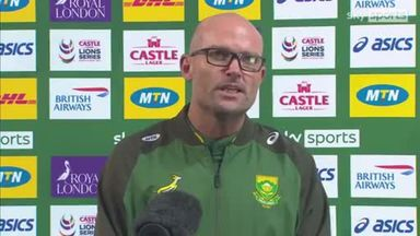 Nienaber praises South African mentality