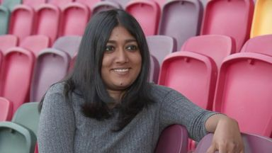 The South Asian woman in a PL boardroom