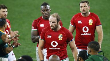 'The Lions were in their shell'