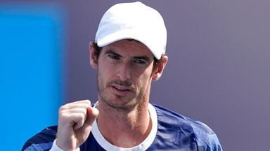 Murray happy with fitness levels