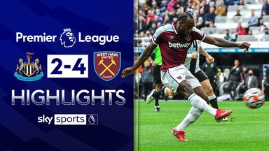West Ham come back twice to beat Newcastle