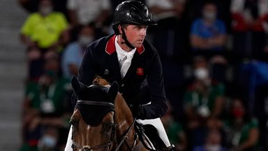Maher wins jump-off to claim gold for GB