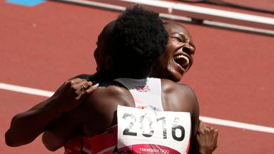 Asher-Smith returns in 4x100m relay