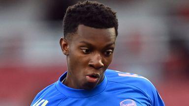 Palace keen on Arsenal's Nketiah