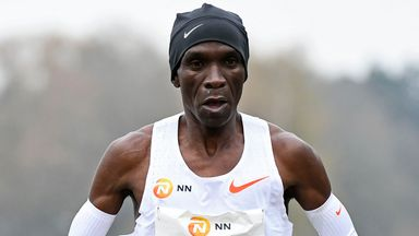 Kipchoge: Running gives people hope