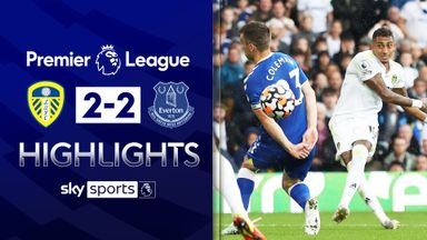 Leeds fight back to earn Everton draw