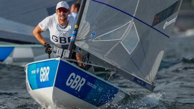 Double sailing gold for GB