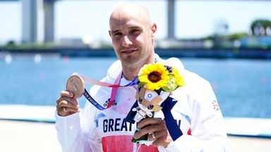 'This medal marks my journey to get here'