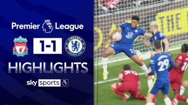 10-man Chelsea hold on for draw at Liverpool
