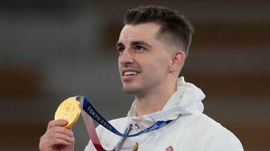 Whitlock retains Olympic pommel horse title