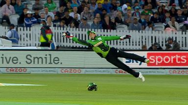 What a catch from Quinton de Kock!