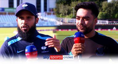 Adil Rashid and Rashid Khan talk leg-spin - and each other!