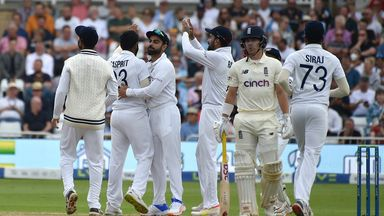 England v India: Test 1, Day 1 - Morning Highlights