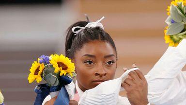 Is Biles' Olympics over?