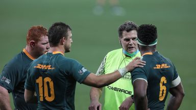 Stevens: South Africa have momentum