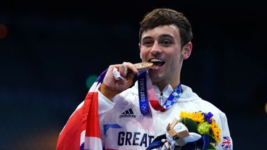 Daley delighted with individual diving bronze