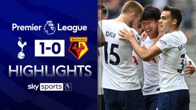 Son strike keeps Spurs top of the league