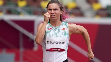 IOC: Belarus Olympian feels safe and secure