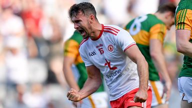 McKenna finds the net for Tyrone