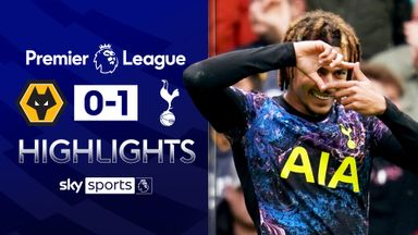 Alli penalty earns Spurs win at Wolves