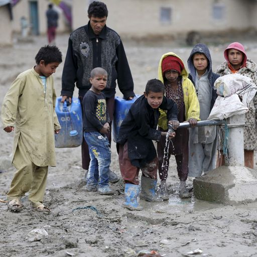 Afghanistan is one of the poorest countries in the world - now things could get even worse