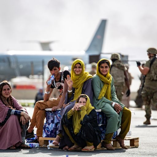 What is government's plan for resettling thousands of Afghan refugees in the UK?