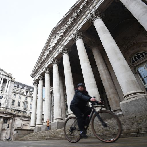 Bank of England ramps up inflation forecast again but takes no action to help cool prices