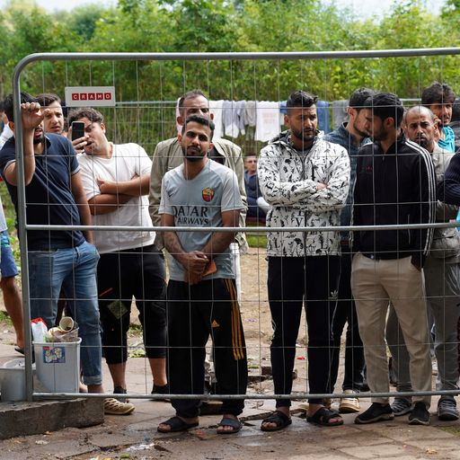 Belarus 'attacking' European Union by forcing asylum seekers into the bloc