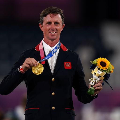 Team GB move to fourth in medal table after sailing and equestrian golds