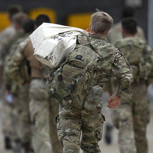 Afghanistan: Last troops touching down in UK