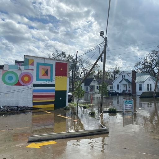 Hurricane Ida rips at the jazz heart of New Orleans