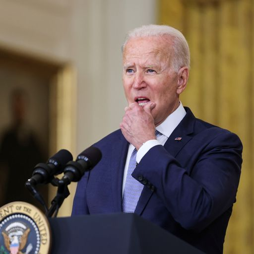 Biden makes another robust defence of his Afghanistan decision as his approval ratings plummet