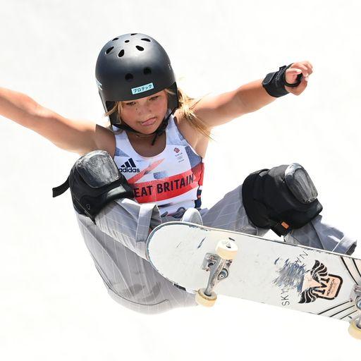 Sky Brown: Olympic medal-winning skater, surfer and social media star and still just 13