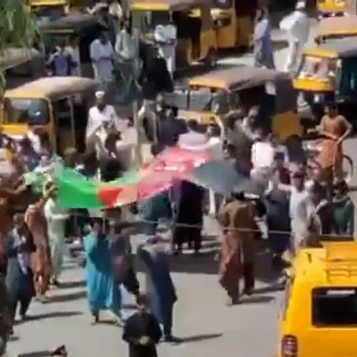 Taliban violently disperses protest in Jalalabad