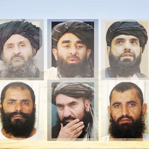 Who's who in the new Taliban's inner circle