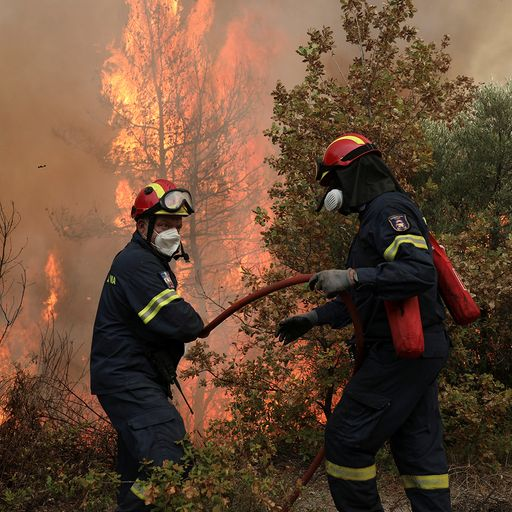 'Disaster movie' in Greece: Death and devastation as wildfires rage across the world