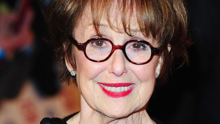 Una Stubbs arriving for the 2013 National Television Awards at the O2 Arena, London.