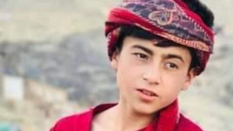 16-YEAR-OLD FAISAL AHMADI VICTIM OF 29 AUGUST U.S. AIRSTRIKE