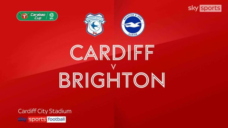 Cardiff City vs Brighton & Hove Albion Highlights 24 August 2021