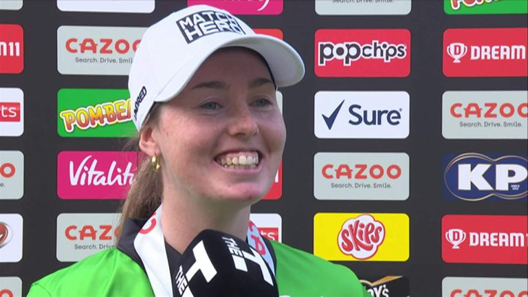 Match Hero Wellington took four wickets for 14 runs from her 20 balls in Brave's convincing win over Spirit