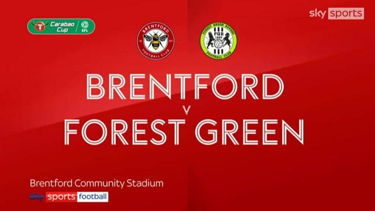 Brentford vs Forest Green Rovers Highlights 24 August 2021