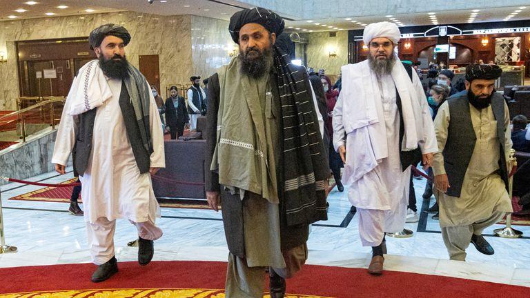 Mullah Abdul Ghani Baradar, the Taliban's deputy leader and negotiator