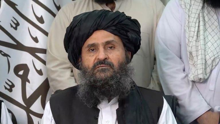 Mullah Abdul Ghani Baradar is said to be the Taliban's political leader