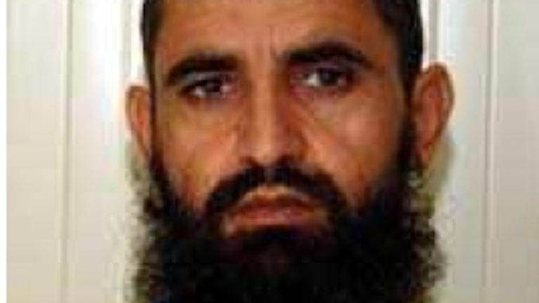 The official Guantanamo photo of Abdul Haq Wasiq