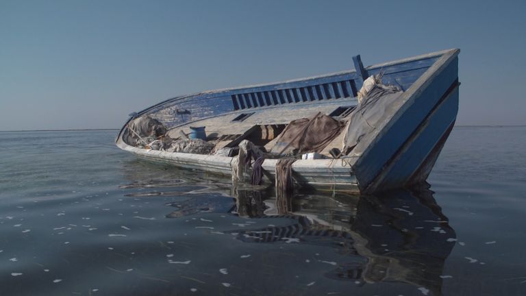 Boats are simply found floating in the open water