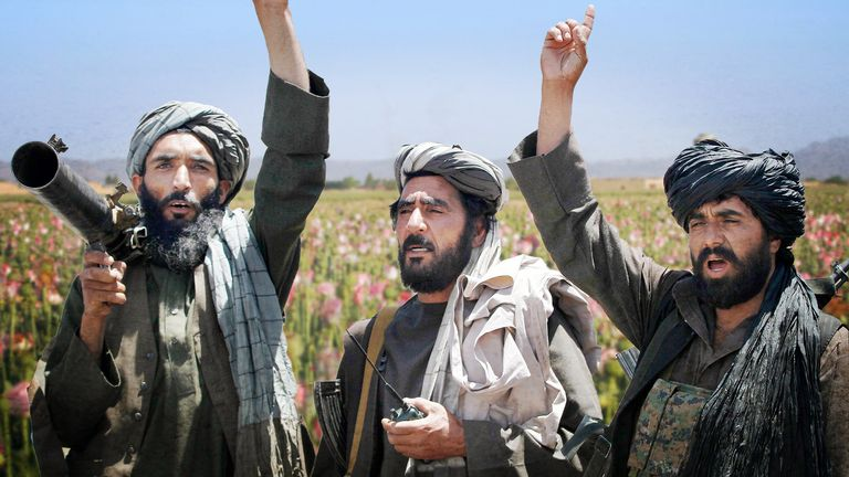 The Taliban has funded itself through the opium and heroin trade