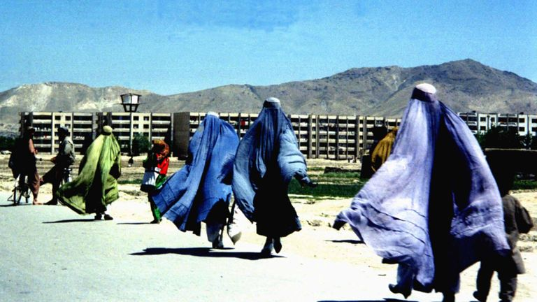 Under the Taliban's first regime, women had to wear burkas and were not allowed to work