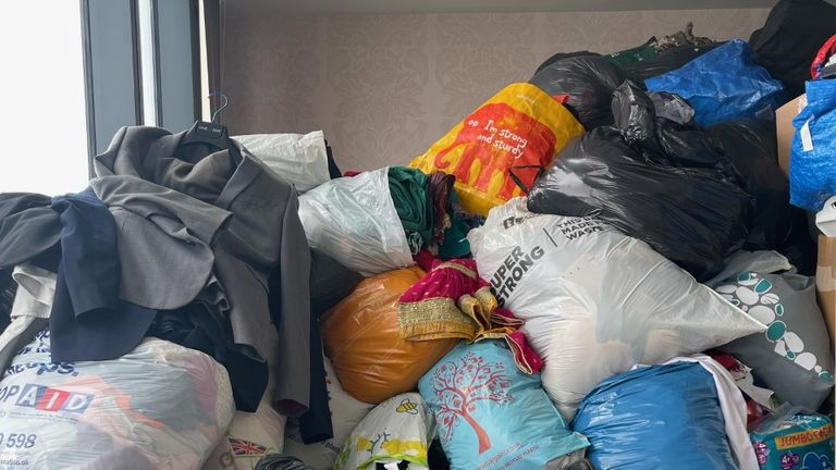 Care4Calais, a charity in Manchester, has been swamped for donations for Afghan refugees